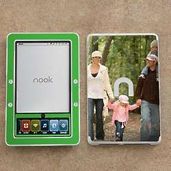 Personalized Photo Skins - Nook eBook Reader (Black And White)