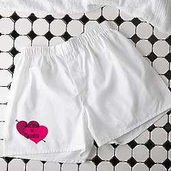 Personalized Valentine's Day Boxer Shorts
