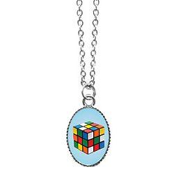 Rubik's Cube Necklace