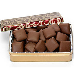 Copper Kettle Toffee Square Chocolates Tin