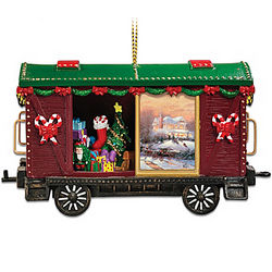 Thomas Kinkade Christmas Express Ornament