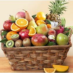 Tropical Treat Fruit Basket
