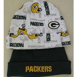 Packers Newborn Winter Hats