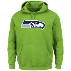 Neon Green Seattle Seahawks Pullover Hoodie