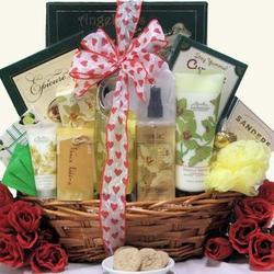 Vanilla Orchid Spa Luxuries Valentine's Day Gift Basket