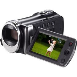 Black Full HD Digital Video Camcorder with 130X Digital Zoom