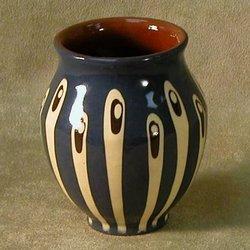 Early Raindrops Ceramic Vase