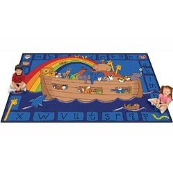 Alphabet Noah Rectangle Rug