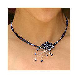Midnight Sea Lapis Lazuli Choker