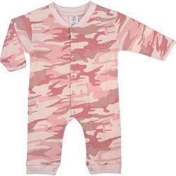 Baby Pink Camo Full Length One Piece Bodysuit