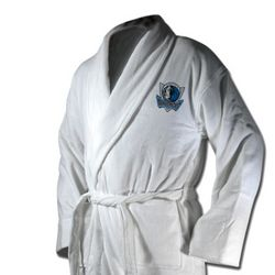 Dallas Mavericks Terrycloth Logo Bathrobe