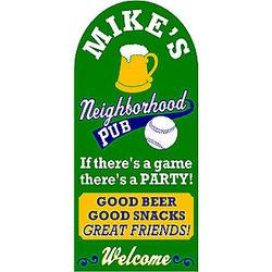 Good Beer Good Snacks Sign