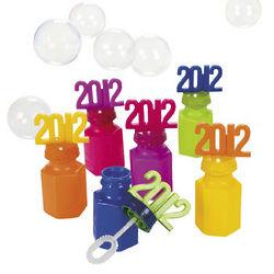 2012 Graduation Bubble Bottles
