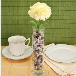 Personalized In Loving Memory Glass Bud Vase