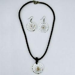 Seashell Necklace Set