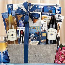 Rock Falls Vineyards Connoisseur Gift Basket