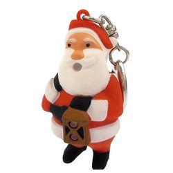 Santa LED Keychain