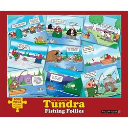 Tundra Fishing Follies Jigsaw Puzzle