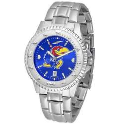 NCAA Competitor AnoChrome Steel Band Watch