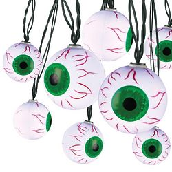 Spooky Eyeball String Lights