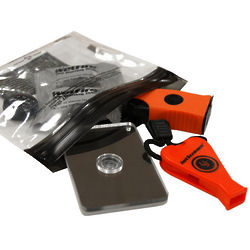 Waterproof Survival Base Kit 2.0 in Orange & Black