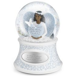 Butterfly Angel of Blessings Snow Globe