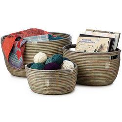 Handmade Nesting Basket Set