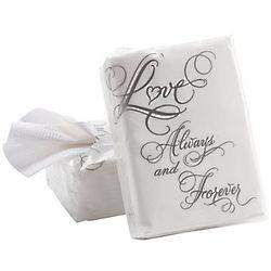 Love Design Wedding Facial Tissue Packs