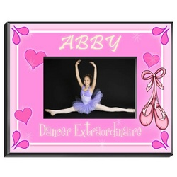 Personalized Dancer Picture Frame