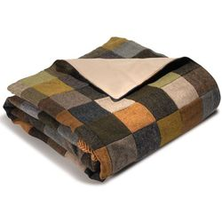 Genuine Irish Tweed Patchwork Throw