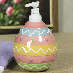 Egg-Shaped Lotion/Soap Dispenser