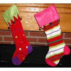 Jingle Knit Personalized Christmas Stocking
