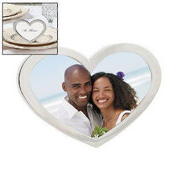 Heart Shaped Namecard Frames