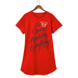 Queen of Everything Sleepshirt