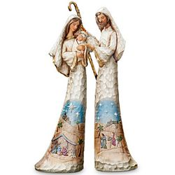 Thomas Kinkade Elegant Blessings Nativity Figurine Set