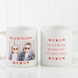 Personalized Loving You Photo Coffee Mug