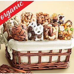 Organic Savory Snacks Gift Basket