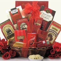 Sweet Romance Anniversary Gift Basket