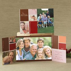 Family and Friends Gatefold Photo Cards
