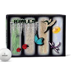 Multi-Winged Icon Golf Balls