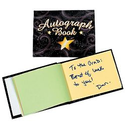 Black and Gold Autograph Books