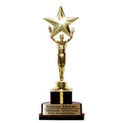 MegaStar Customized Trophy