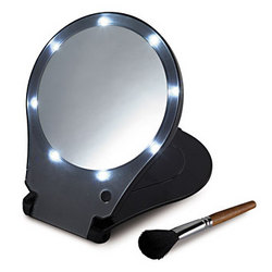 Lighted Travel Mirror