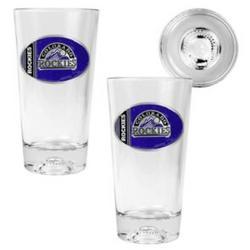 Colorado Rockies Pint Glass Set
