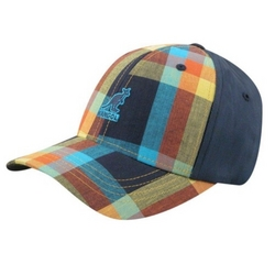 Kids Pop Plaid Baseball Cap