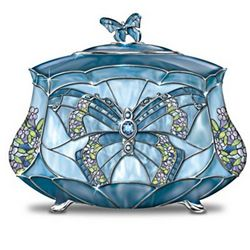 Beauty Takes Wing Butterfly Music Box