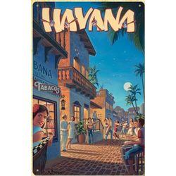 Havana Metal Print Sign
