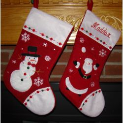 Ode to Christmas Personalized Stockings