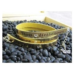 Friendship Leather Wrap Bracelet