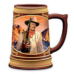 John Wayne as The Duke Porcelain Stein